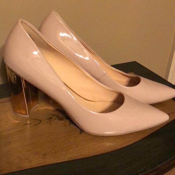 4e7588153a8 Size 12 Nine West Astoria NEW Nude Heels. M 5abda71fa6e3eacd12306f18